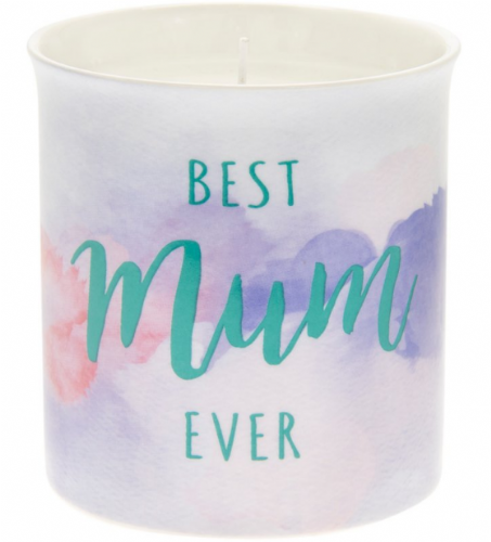 BEST MUM SCENTED CANDLE gift